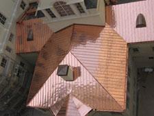 rosewood metal roof