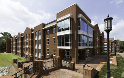 uncc residence hall
