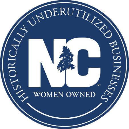 historically underutilized business NC logo
