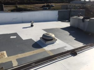 Radco Was Awarded Two Roof Coating Projects. The First Project Is A 3,700  Square Foot Metal Roof System Located At 619 South Cedar Street.