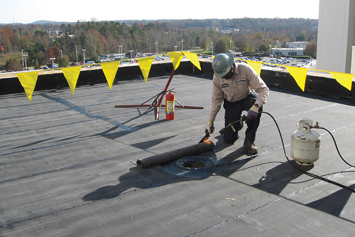Roof Maintenance Repair